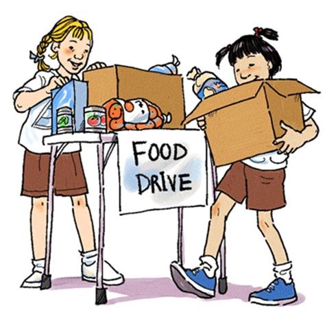 food drive clipart food drive