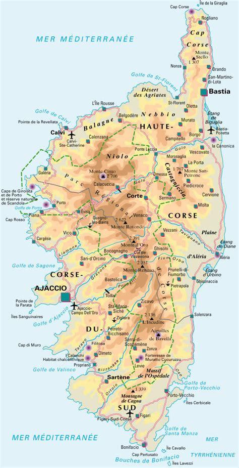 chambre bretonne carte de la corse detaillee visualisez la carte de la
