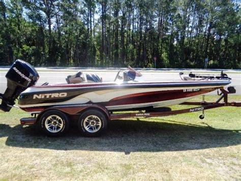Used Nitro Bass Boats Texas by Used Power Boats Bass Nitro Boats For Sale 3 Boats