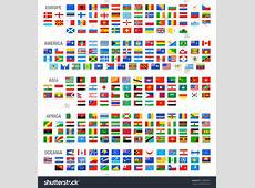 All Vector World Country Flags High Stock Vector 216009454