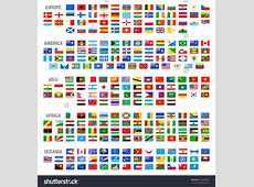 Royaltyfree All Vector World Country Flags at High