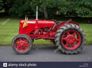 1955 Red David Brown 30d Series Vintage Tractor Stock