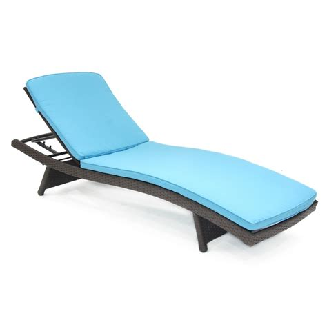 chaise turquoise turquoise chaise lounger cushion