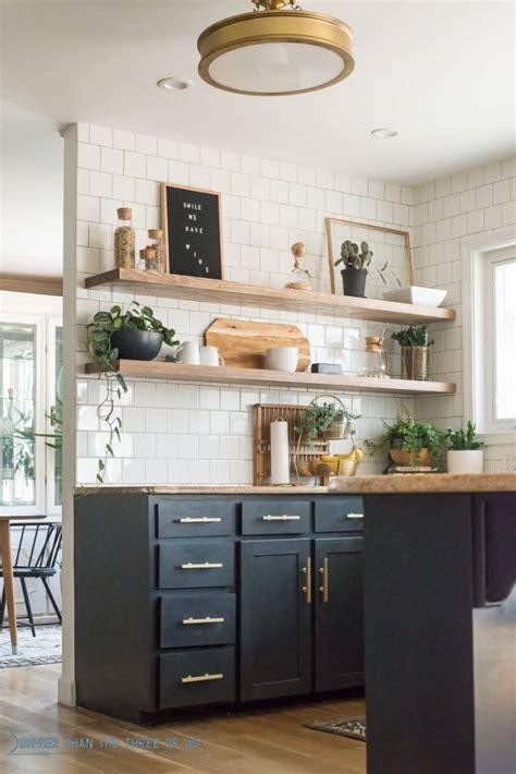 cut corners   kitchen shelving bigger