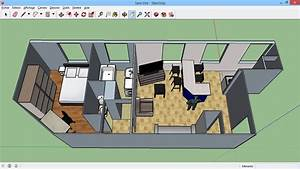 modeliser un plan en 3d maisonappartautresketchup With plan maison google sketchup