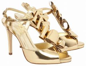 Wedding lady gold wedding shoes for Gold dress shoes for wedding