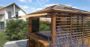 Fabriquer Un Abri De Piscine : abri de spa en bois caract ristiques et avantages ~ Zukunftsfamilie.com Idées de Décoration