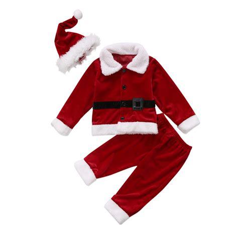 new year christmas christmas clothing sets elk 2017 new year kid baby boys christmas costume santa