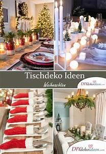 Tischdeko Weihnachten Selber Machen : mit diesen diy tischdeko ideen zu weihnachten bezauberst ~ Watch28wear.com Haus und Dekorationen