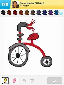 Tricycle Drawings - How to Draw Tricycle in Draw Something ...