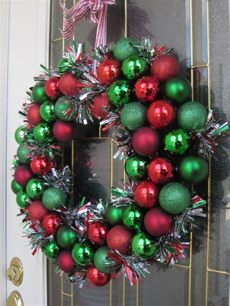 weihnachtskranz basteln  inspirierende bastelideen fuer