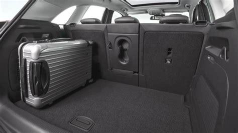crossland x coffre medidas opel crossland x 2017 maletero e interior