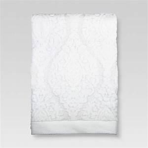 Fmt Charts Ogee Bath Towels White Threshold Target