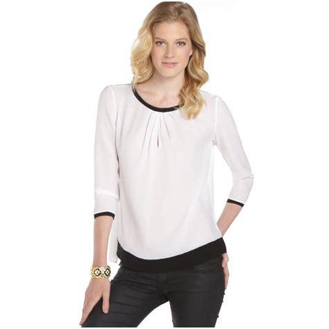 the blouse white blouses sleeved blouse