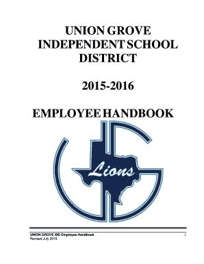 fillable ugisd union grove independent school 204 | 268083764