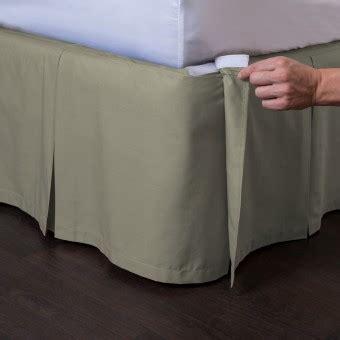 Ashton Detachable Pleated Bed Skirt Ensemble   ShopBedding.com