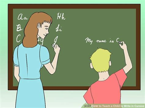 how to teach a child to write in cursive 5 steps with 562 | aid3053305 v4 728px Teach a Child to Write in Cursive Step 4