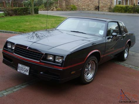 Chevrolet Monte Carlo SS 1985 - G Body Chassis - 305 Small