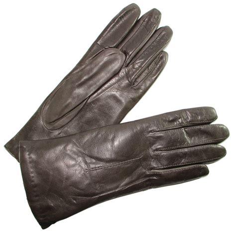 gant anti chaleur cuisine gant femme brun cuir agneau doublé tous les gants