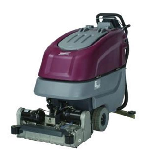 Minuteman Floor Scrubber E20 by E24 Cylindrical Brush Scrubber By Minuteman