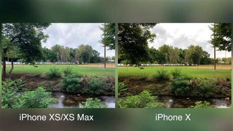 comparativa de camara del iphone xs  xs max  el iphone