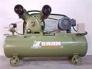 Swan 5hp Air Compressor Svp 25  2021 4 00 Pm