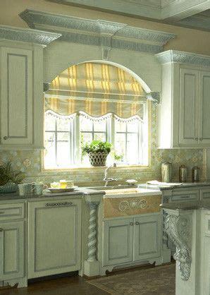 mediterranean turquois gold kitchen arch  sink