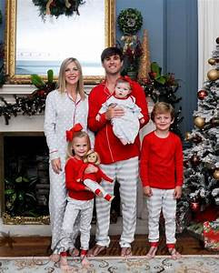 new christmas family matching outfits dot printed stripe With the best short time holiday family pictures ideas