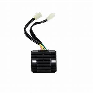 6-wire    2-plug Voltage Regulator Rectifier