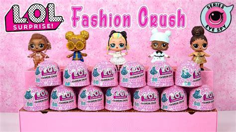 lol surprise fashion crush series eye spy doll outfits