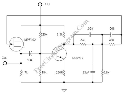 Stable Frequency Signal Generator Electronic