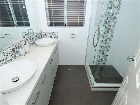 bathroom tile feature ideas classic bathroom design with basins using ceramic