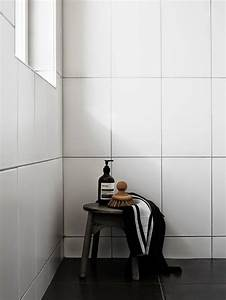 White tiles with black grout subway tiles in kitchen for Kitchen cabinets lowes with art deco style wall mirror