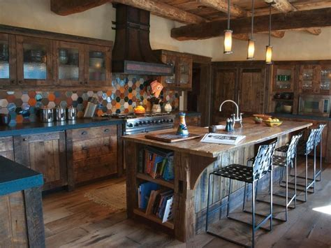 Barnwood Kitchen Island Remodel and Reclaimed Ideas [31