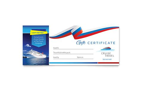 letterheads template free cruise travel gift certificate template word publisher