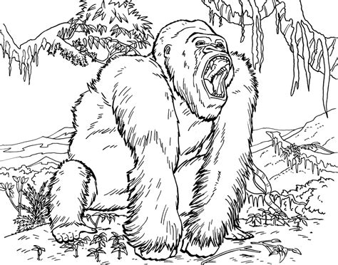 Gorilla Grodd Coloring Pages
