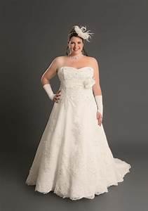 robe mariee grande taille le son de la mode With robe de mariée dentelle avec parure bijoux soirée