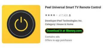 peel universal smart tv remote control mod apk