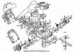Poulan Pp822sa Mower Parts Diagram For Mower Housing  U0026 B  S