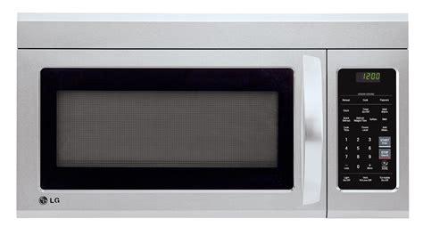 Lg Appliances Lmv1831st18 Cuft Overtherange Microwave