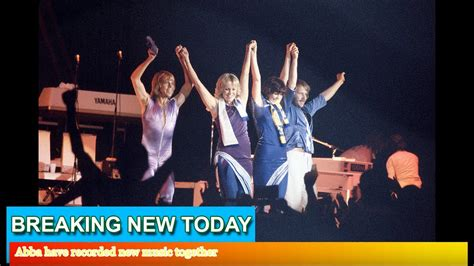 Abba Have Recorded New Music Together