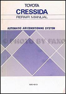 1981 Toyota Cressida Wiring Diagram Manual Original