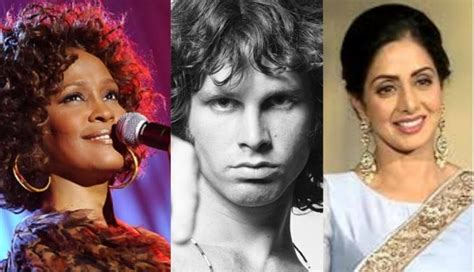 actress died in bathtub from sridevi to whitney houston celebrities who had