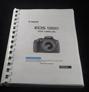 Canon Eos 1300d Full User Manual Guide Instructions