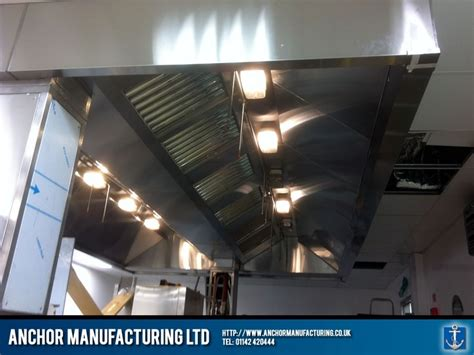 kitchen canopy lights a kitchen canopy and in sheffield stainless steel for 3314