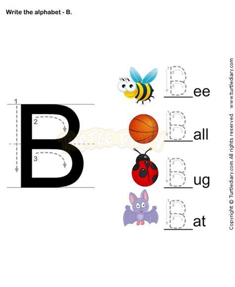 letter writing b esl efl worksheets preschool