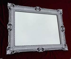 Barock Spiegel Silber : bilderrahmen silber barock xxl 90x70 gem lde antik spiegel foto rahmen gro kaufen bei ~ Indierocktalk.com Haus und Dekorationen