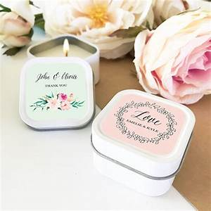 bridal shower favors personalized candles wedding favors With personalized wedding shower favors