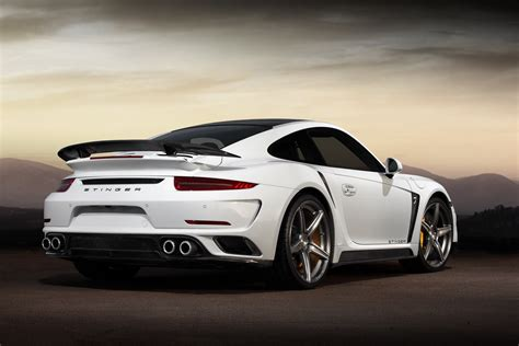 Porsche 911 Turbo Stinger Gtr By Topcar Has 24k Gold