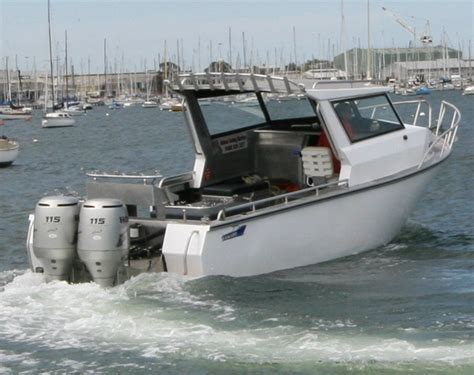 Used Commercial Fishing Boats For Sale by Used Seatech 7 49 Hardtop Commercial Fishing For Sale